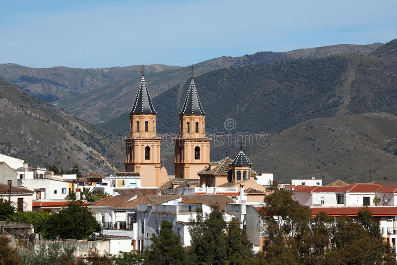 Download Andalusian Village Orgiva, Spain Stock Image - Image: 25012451