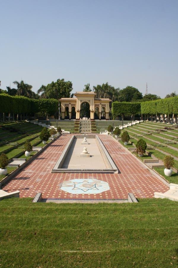Andalusien-Garten stockbilder