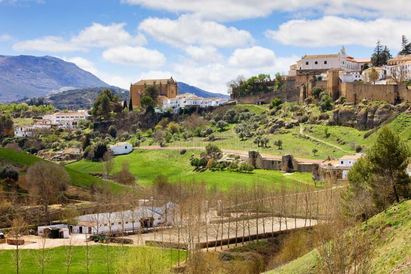 Andalusien-Landschaft stockbilder