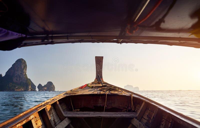 andaman łódkowaty morze obraz royalty free