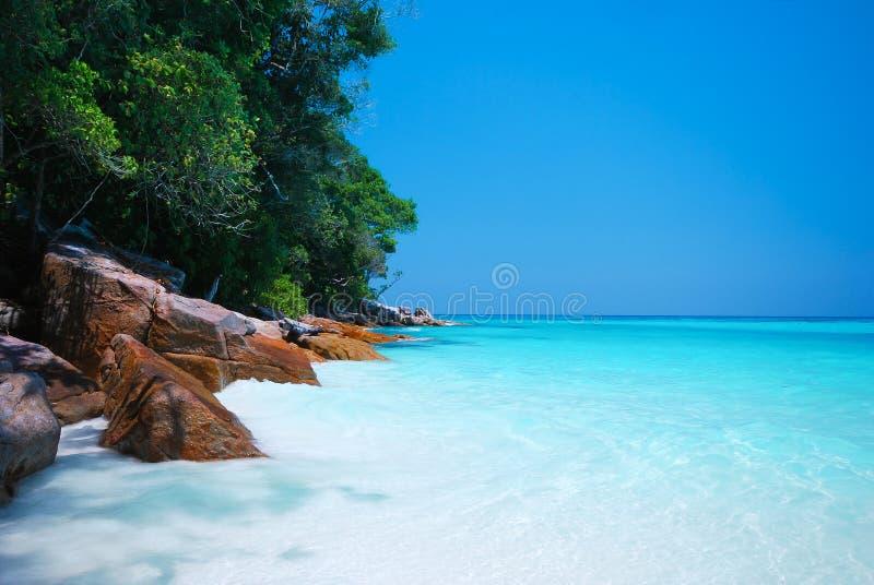 Andaman Beach. Beautiful Andaman Beach in Thailand royalty free stock image