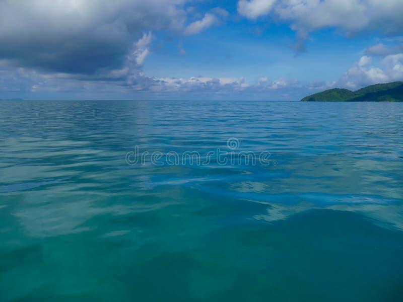 Andaman Meer, Thailand stockbilder