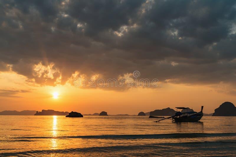 Andaman sea coasline stock photo