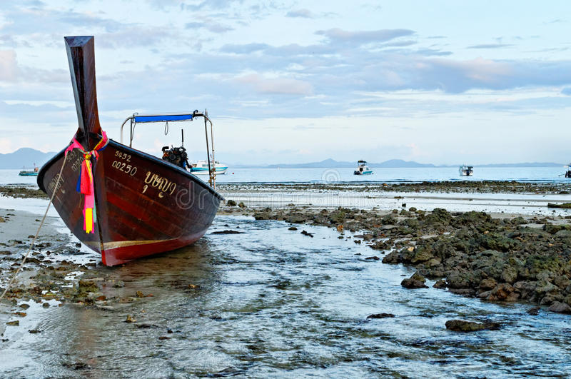 Andaman sea at low tide