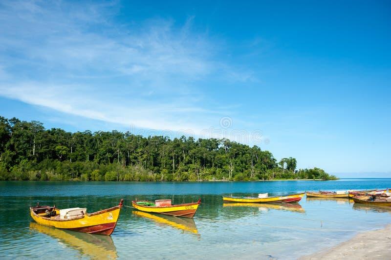 Andamans stock fotografie