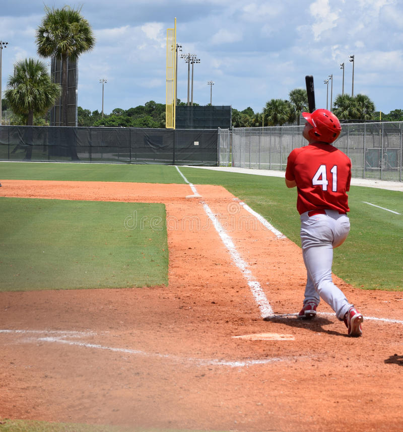 Andatura di baseball fotografie stock libere da diritti