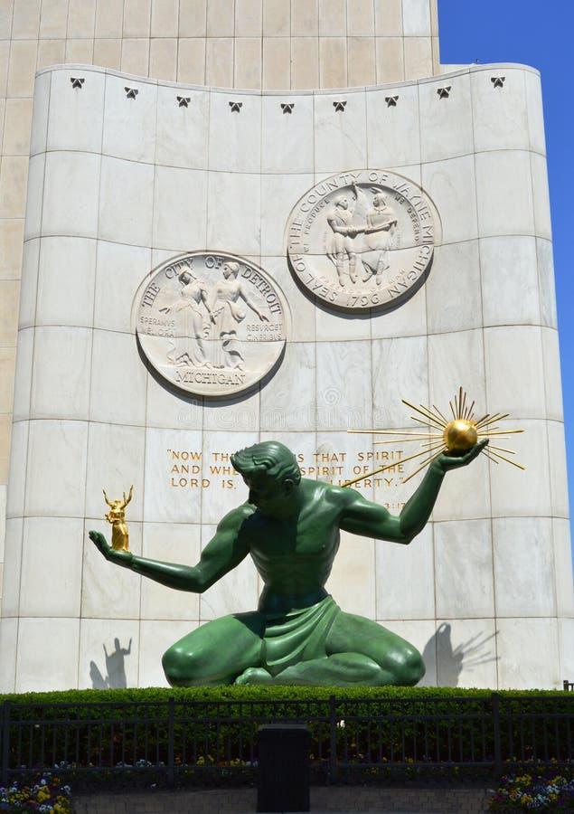 Ande av Detroit royaltyfria foton