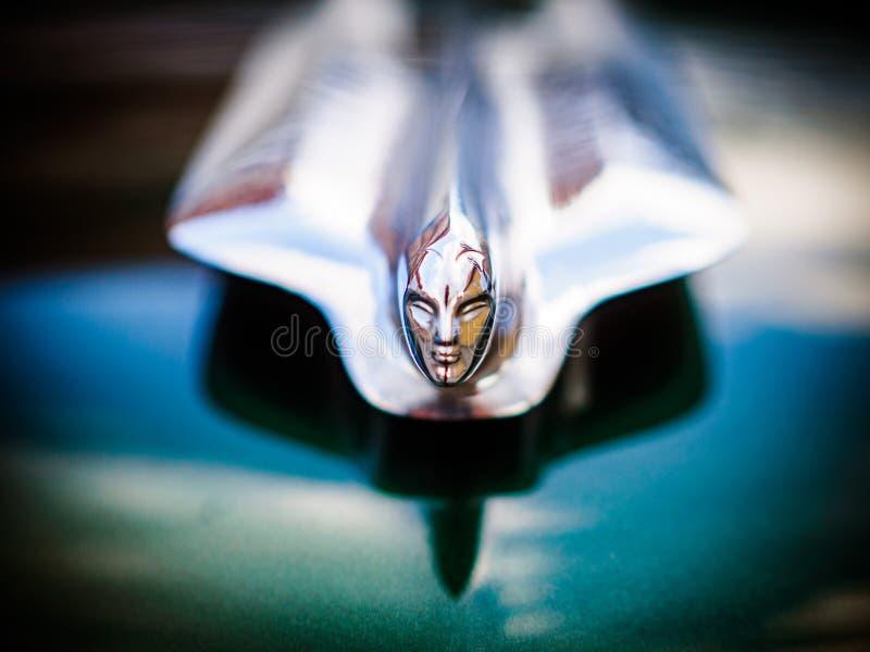 Ande av extas vid Rolls-Royce Phantom V royaltyfria bilder
