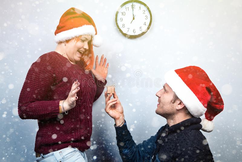 Ande av jul och det nya året Begrepp av en ferie och dagar royaltyfria foton