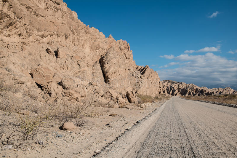 Andean dirt road stock images