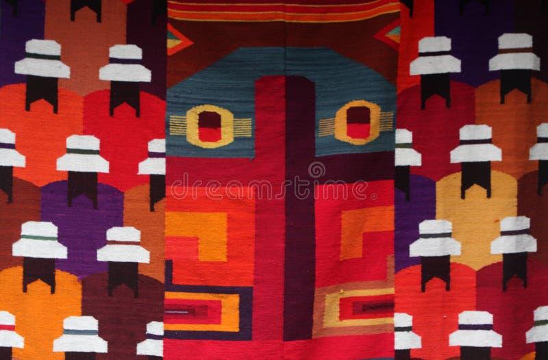 Andean färgrika modeller arkivbild