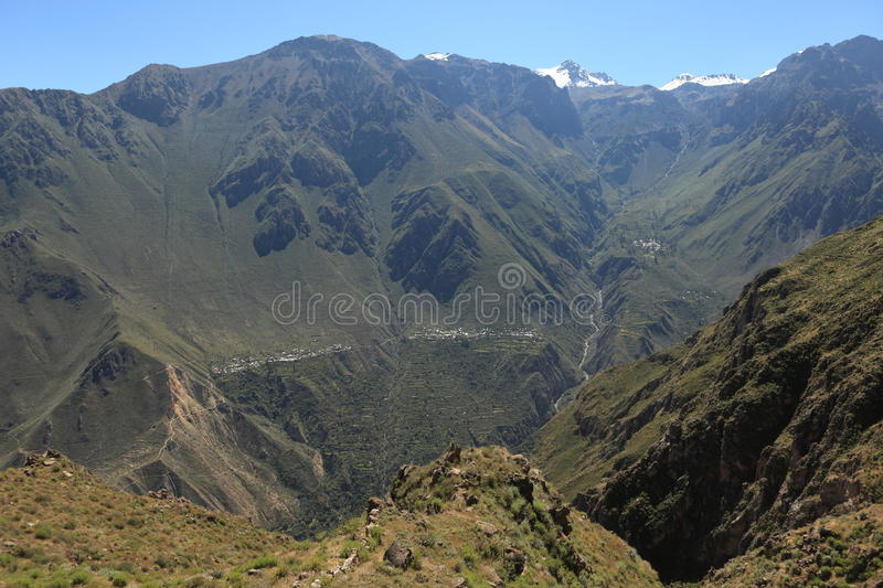 Download Andean Landscape in Peru stock photo. Image of andes - 34188556