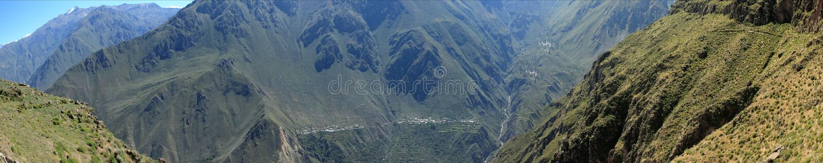 Andean Landscape In Peru Royalty Free Stock Images