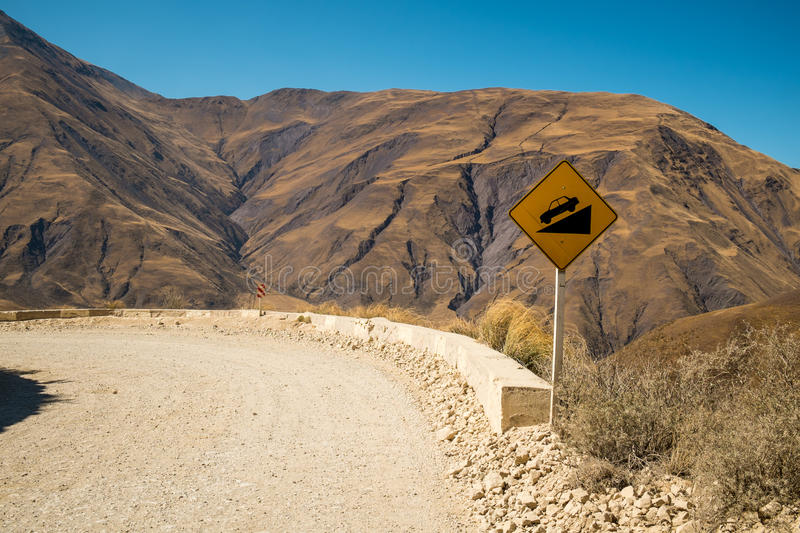Andean road stock photos