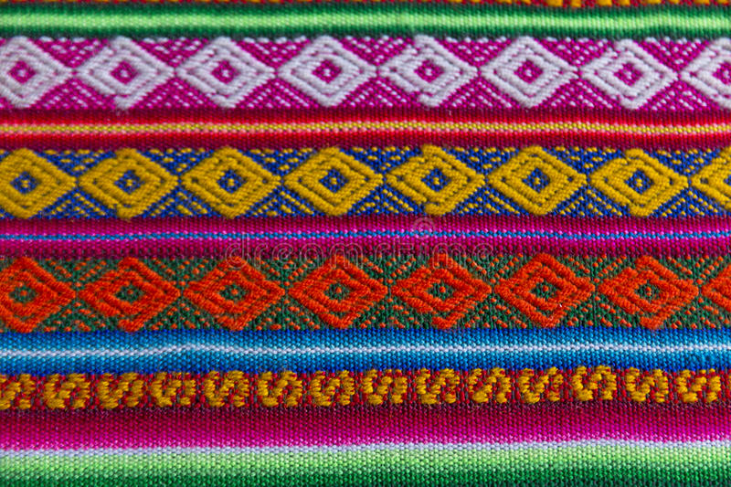 Andean textil i alpaca- och arkull fotografering för bildbyråer