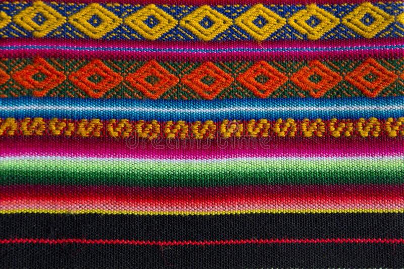 Andean textil i alpaca- och arkull arkivbilder
