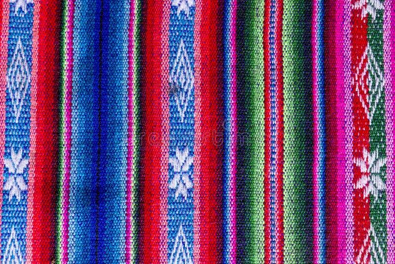 Andean textil i alpaca- och arkull royaltyfri fotografi