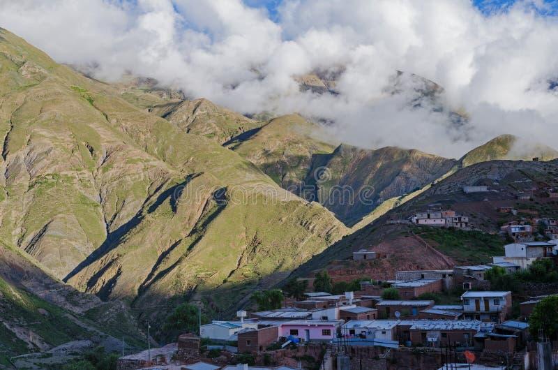 Andean Town Of Nazareno royalty free stock photos
