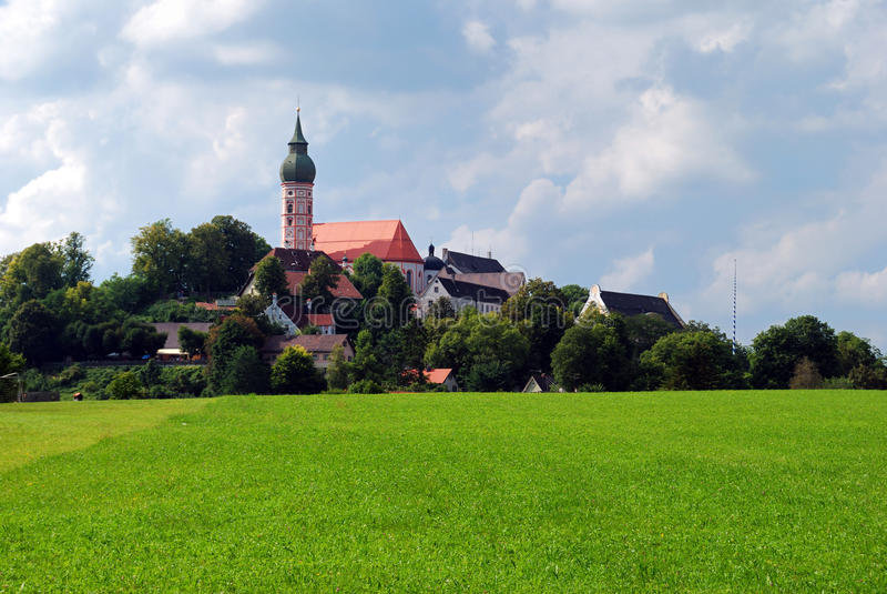 Andechs Abtei stockbild