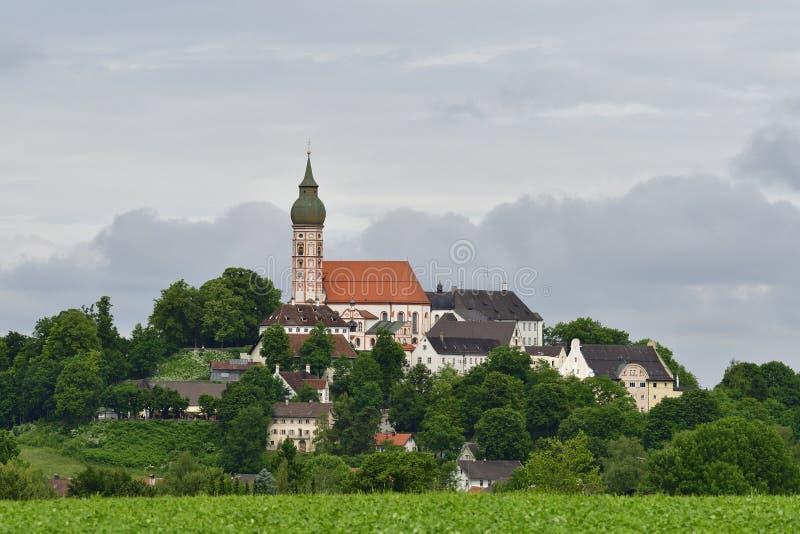 Andechs-Abtei lizenzfreies stockfoto