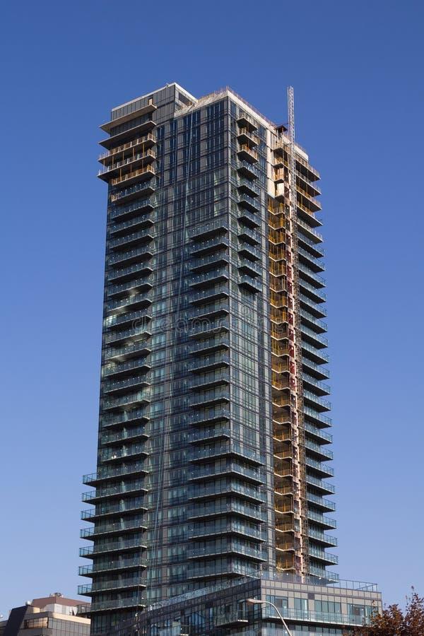 Andelsfastighetkonstruktion Toronto arkivfoto