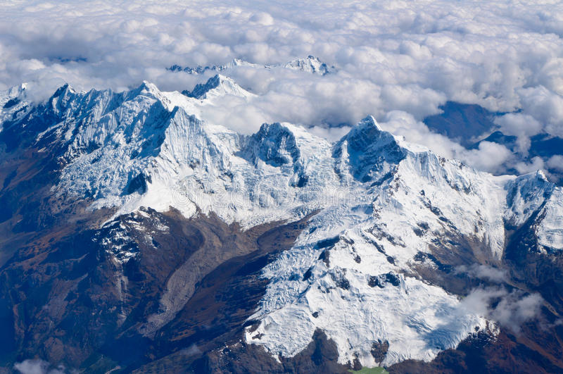 Anden-Berge in Peru lizenzfreie stockfotografie