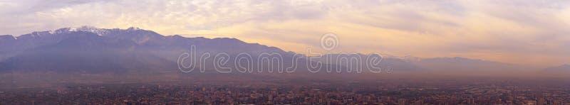 Anden-Bergsantiagode Chile lizenzfreies stockfoto
