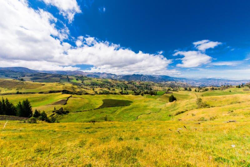 Andenlandschaft Südamerika lizenzfreies stockbild