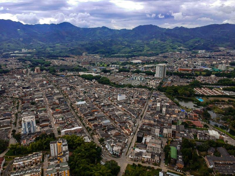 Andere mening van dit paradijs in pereira Risaralda van Colombia stock foto's