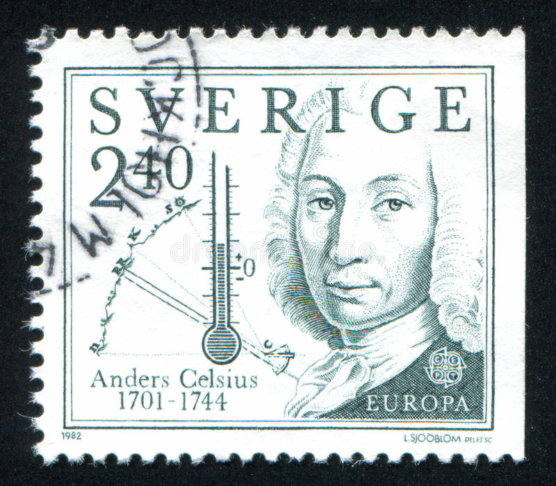 Anders Celsius images stock