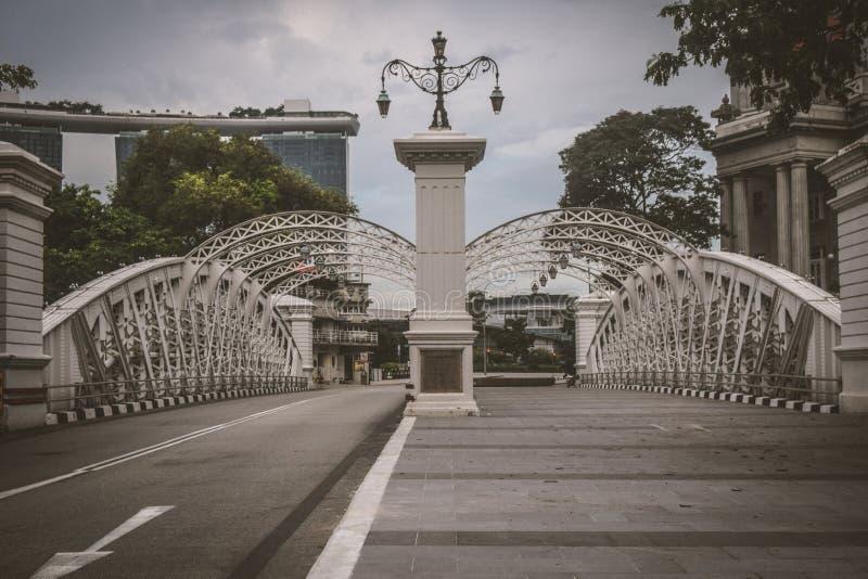 Anderson Bridge photographie stock libre de droits