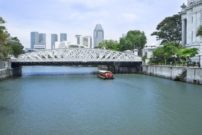 Anderson Bridge stock photo