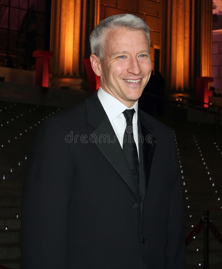 Download Anderson Cooper editorial stock photo. Image of classical - 25643858