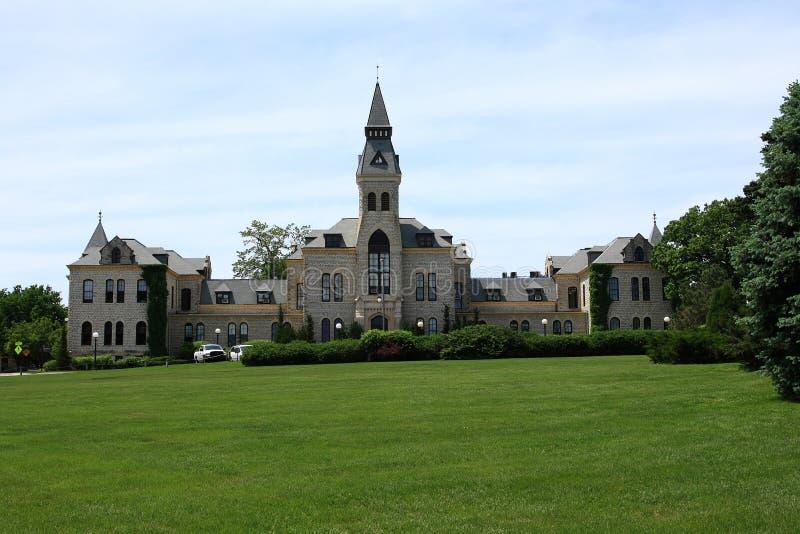 Anderson Salão - universidade de estado de Kansas fotografia de stock royalty free