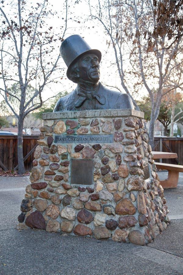 Anderson statue stock image
