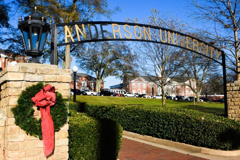 Anderson University imagen de archivo