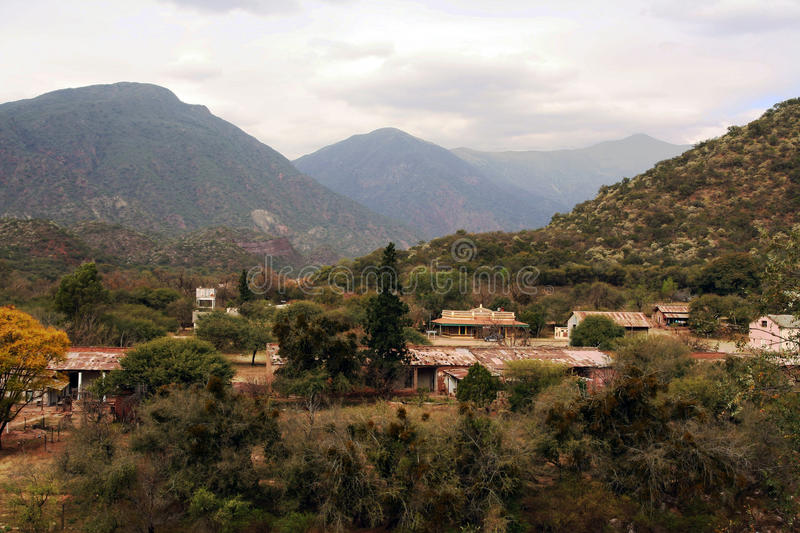 The Andes in Salta province, Argentina royalty free stock photos