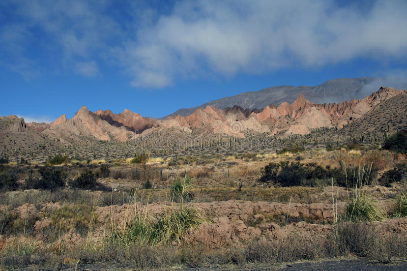 The Andes in Salta province, Argentina stock image