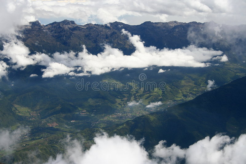 Andes in Venezuela stock photography