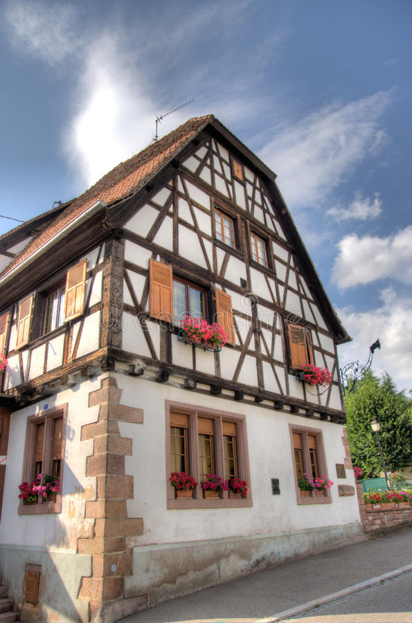 Download Andlau Village In Alsace Royalty Free Stock Photos - Image: 27526578