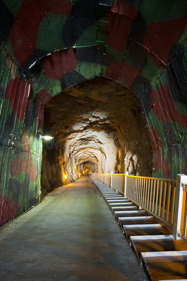 Download Andong Tunnel Entrance stock image. Image of empty, tourism - 23252711