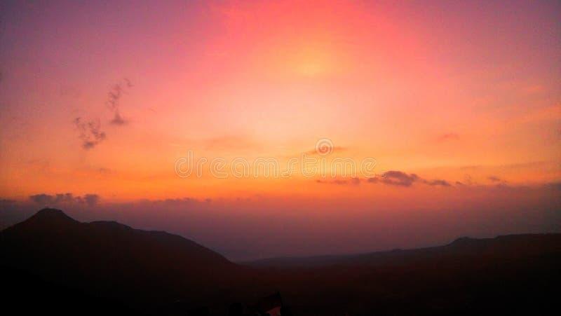 Andong wschód słońca obrazy stock
