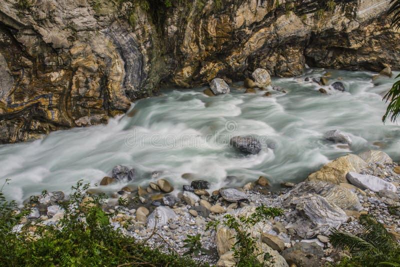 Andorinha Groto no parque nacional de Taroko, Tchaj-WAN foto de stock royalty free
