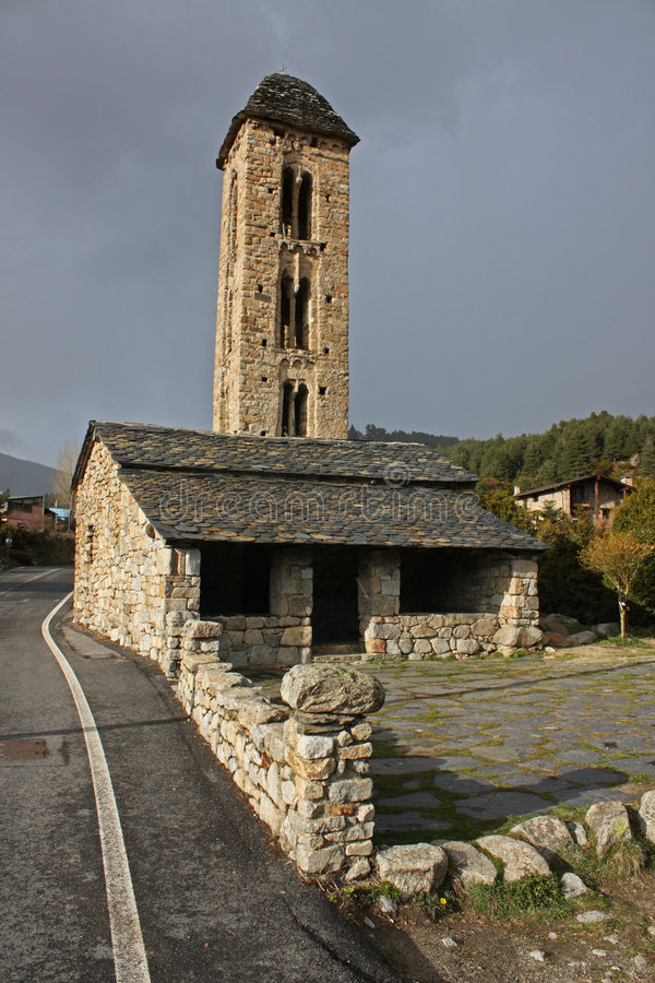 Download Andorra stock image. Image of romanic, europe, bell, beautiful - 9120127