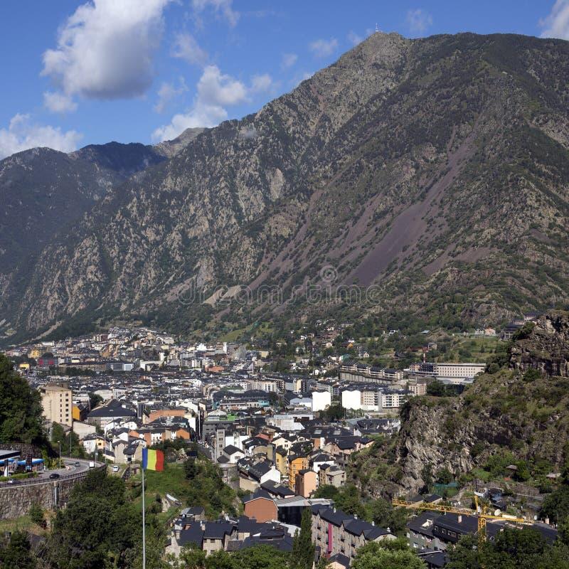 Andorra-La Vella - Andorra lizenzfreie stockfotografie