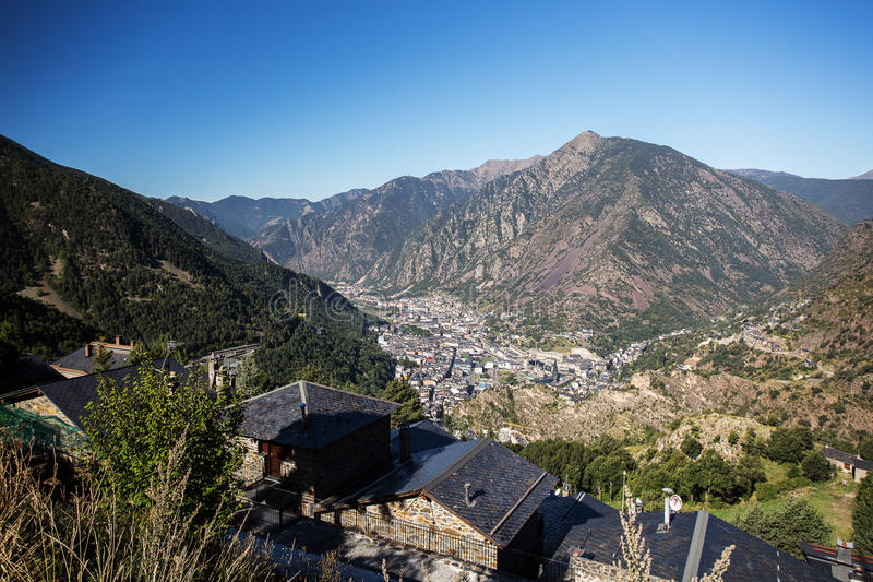 Andorra LaVella stock photography
