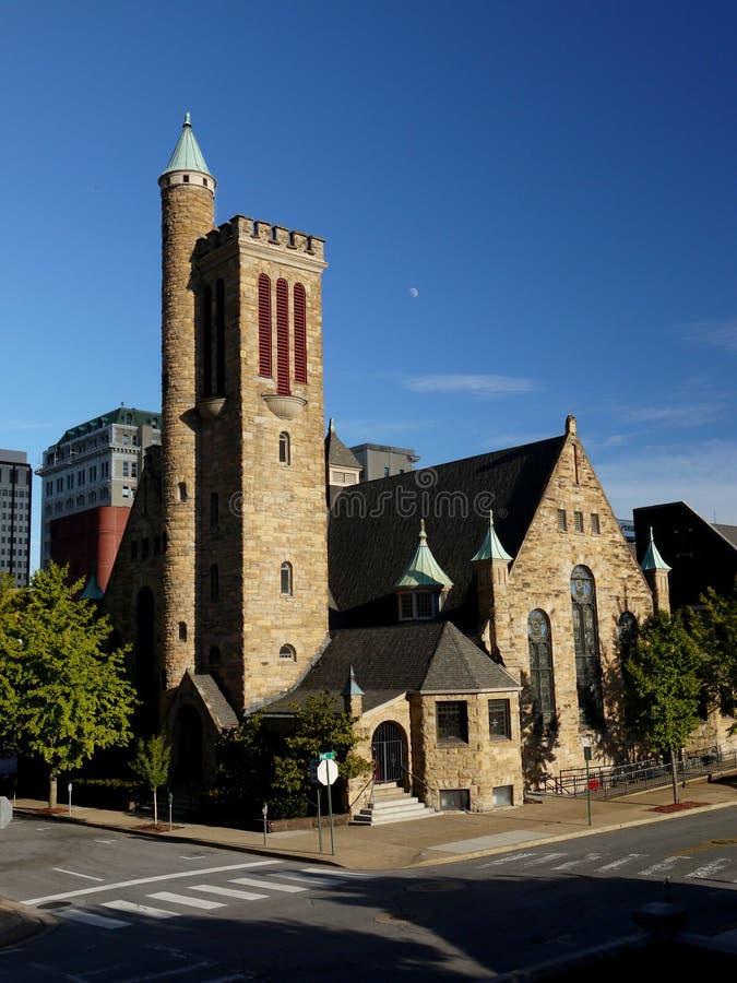 Andra presbyterianska kyrkan--Chattanooga royaltyfria bilder