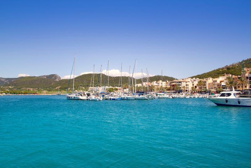 Andratx Port Marina In Majorca Royalty Free Stock Image