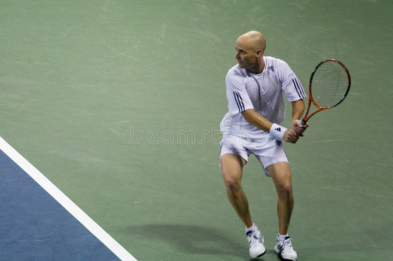 Andre Agassi royalty-vrije stock afbeelding