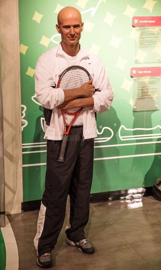 Andre Agassi zdjęcia stock